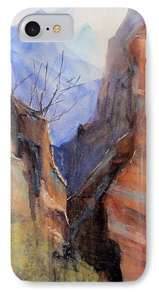 Utah Red Rocks Phone Case by Sandra Strohschein