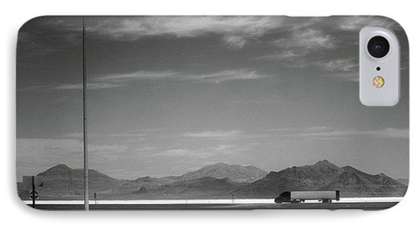 IPhone Case featuring the photograph Utah Salt Flats by Art Shimamura