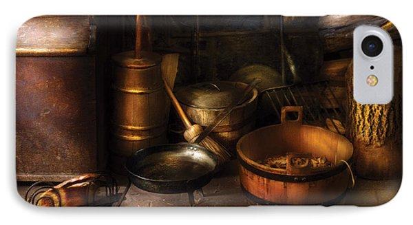 Utensils - Colonial Utensils Phone Case by Mike Savad