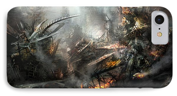 Utherworlds Ashes Phone Case by Philip Straub