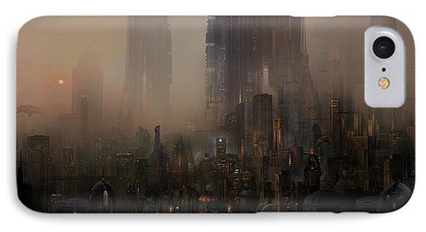 Utherworlds Cohabitations IPhone Case by Philip Straub