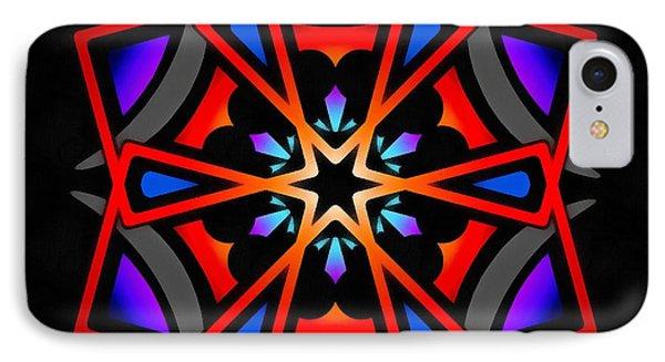 Utron Star IPhone Case by Derek Gedney