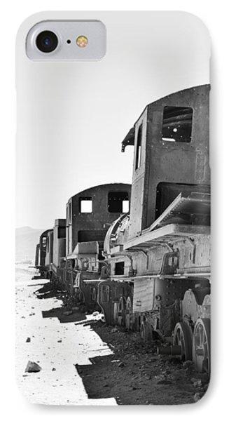 Uyuni Train Cemetery  IPhone Case by Sandy Taylor