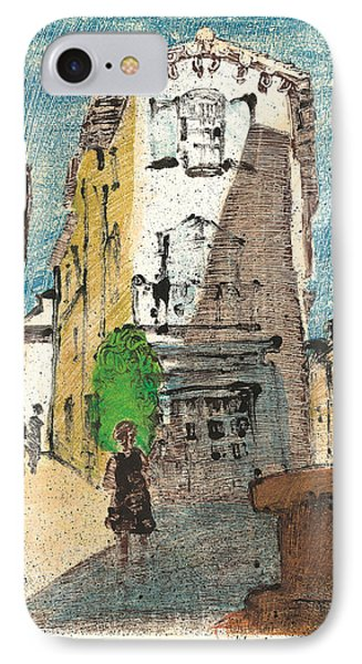 Uzes Provence IPhone Case by Martin Stankewitz