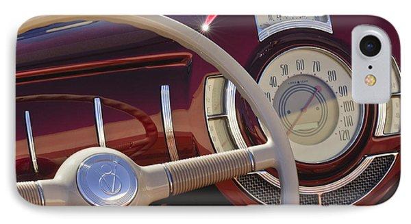 V8 Hot Rod Dash Phone Case by Jill Reger