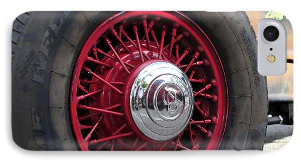 V8 Wheels Phone Case by David Lee Thompson