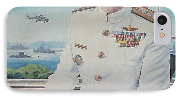Vadm Robert Claude Simpson-anderson IPhone Case