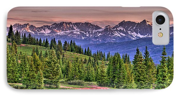 Vail View Phone Case by Scott Mahon
