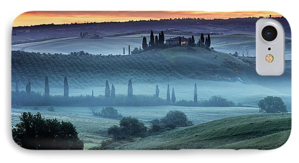 Val D'orcia Phone Case by Evgeni Dinev