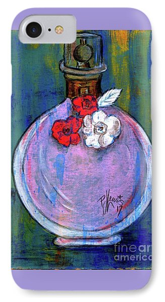 IPhone Case featuring the painting Valentina by P J Lewis