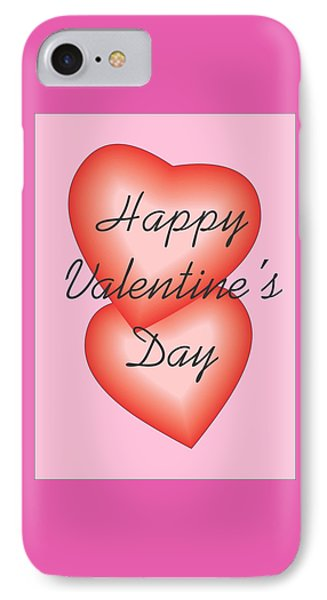 IPhone Case featuring the digital art Valentine Hearts by Sherril Porter