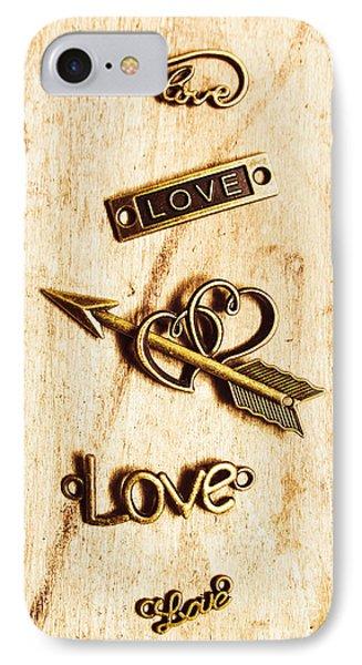Valentine Pendants IPhone Case