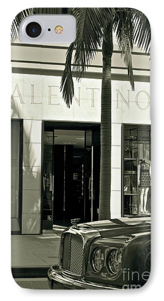Valentino On Rodeo Drive Phone Case by Gwyn Newcombe