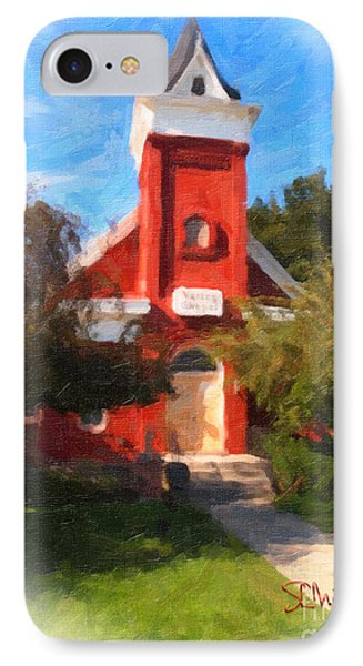 Valley Chapel IPhone Case