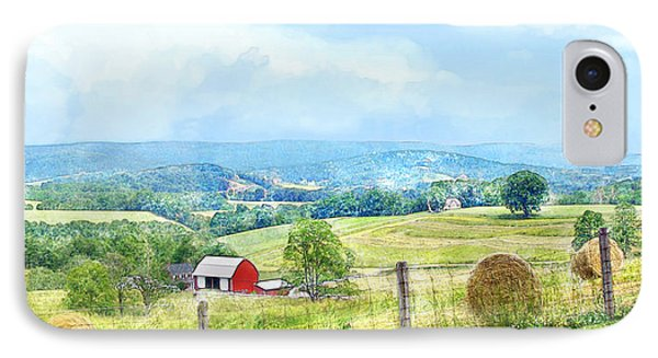 Valley Farm IPhone Case by Francesa Miller