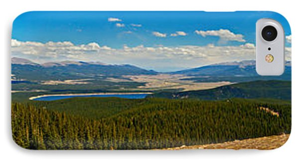 Valley Of 14ers Panorama Phone Case by Jeremy Rhoades