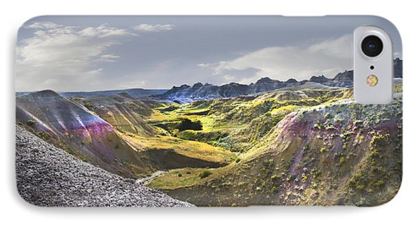IPhone Case featuring the photograph Valley Of Beauty,badlands South Dakota by John Hix