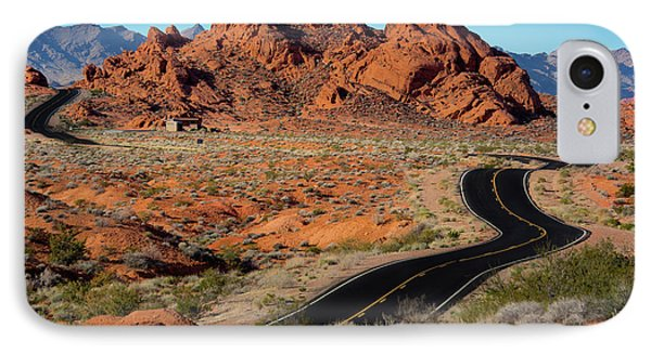 Valley Of Fire IPhone Case