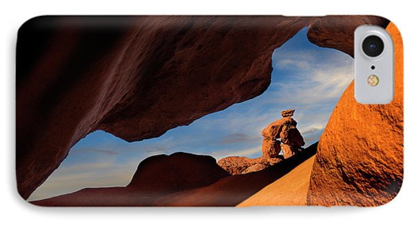 Valley Of Fire Look Through IPhone Case by Gary Warnimont