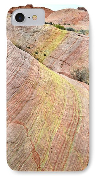 IPhone Case featuring the photograph Valley Of Fire Pastel Dunes by Ray Mathis