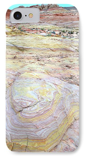 IPhone Case featuring the photograph Valley Of Fire Pastels by Ray Mathis