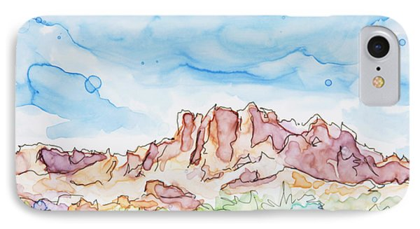 Valley Of Fire IPhone Case by Shaina Stinard