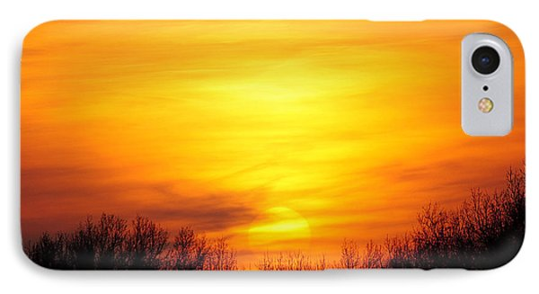 Valley Of The Sun Phone Case by Frozen in Time Fine Art Photography
