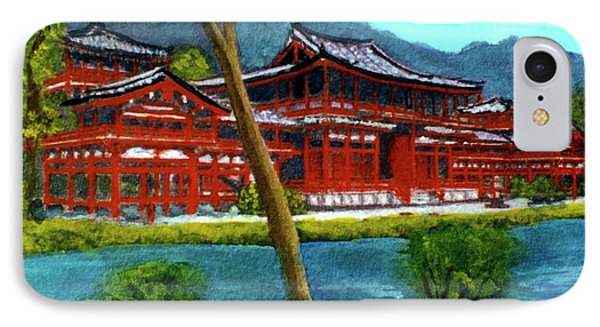 Valley Of The Temples Buddhist Temple #73 Phone Case by Donald k Hall