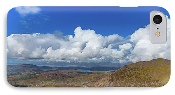 IPhone Case featuring the photograph Valleys And Mountains In County Kerry On A Summer Day by Semmick Photo