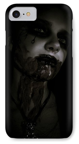 Vampire Feed 2 IPhone Case by Kelly Jade King