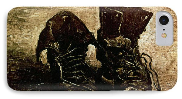 Van Gogh Boots 1886 IPhone Case by Granger