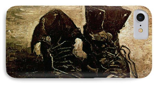 Van Gogh Boots 1886 Phone Case by Granger