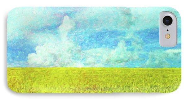 Van Gogh On The Prairie IPhone Case