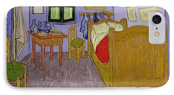 Van Goghs Bedroom At Arles IPhone Case by Vincent Van Gogh