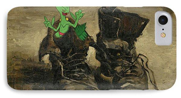 IPhone Case featuring the digital art Van Septilegogh by Greg Sharpe