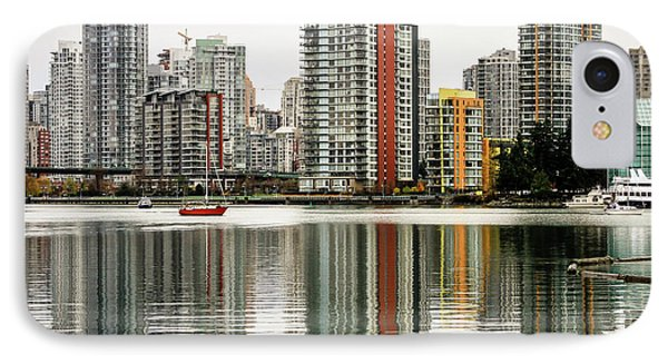 Vancouver Bc Sky Line IPhone Case by Menachem Ganon