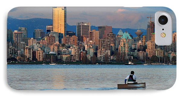 Vancouver Canoe Phone Case by Pierre Leclerc Photography