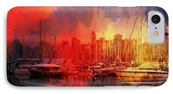 Vancouver IPhone Case by Eva Lechner