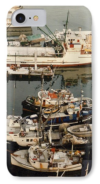 IPhone Case featuring the photograph Vancouver Harbor Fishin Fleet by Jack Pumphrey