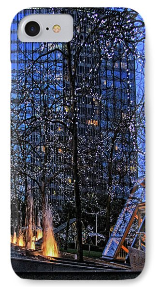 Vancouver - Magic Of Light And Water No 1 IPhone Case by Ben and Raisa Gertsberg