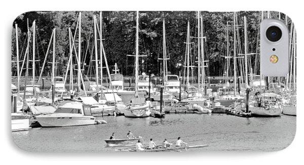 Vancouver Marina No. 1-1 IPhone Case