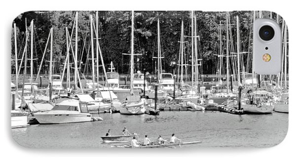 Vancouver Marina No. 1-1 IPhone Case by Sandy Taylor