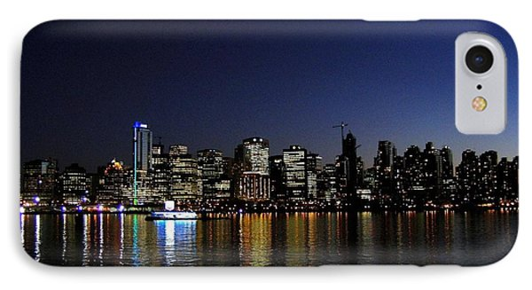 Vancouver Night Lights Phone Case by Will Borden
