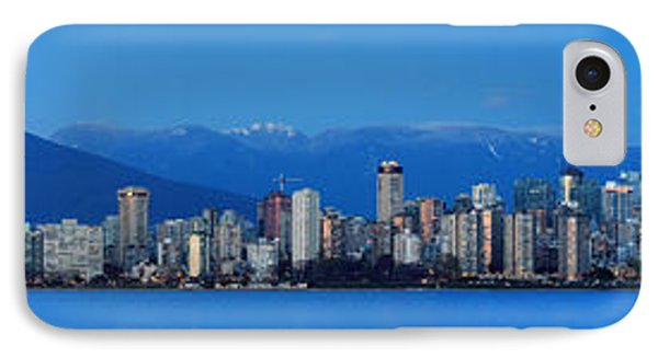 Vancouver Panorama   This Can Be Printed Very Large Phone Case by Pierre Leclerc Photography