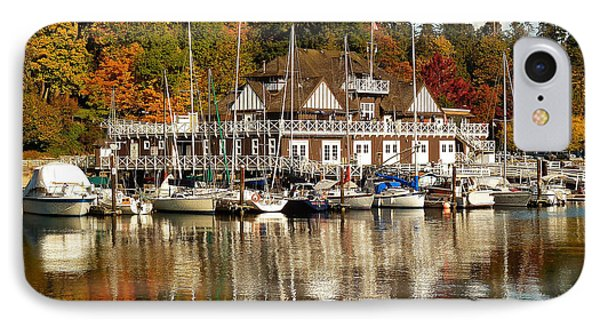 Vancouver Rowing Club In Autumn IPhone Case by Connie Handscomb