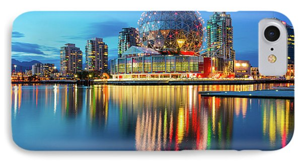 Vancouver Science World IPhone Case by Inge Johnsson