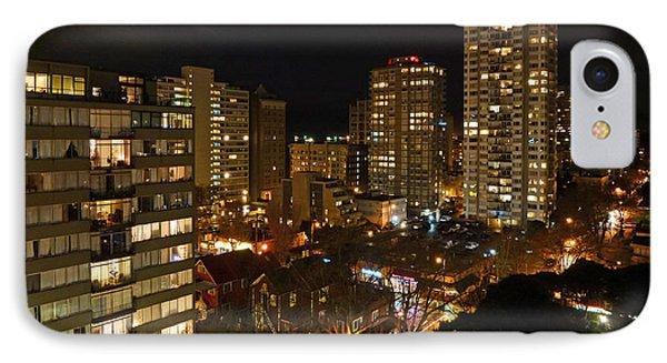 Vancouver Skyline Phone Case by Nancy Harrison