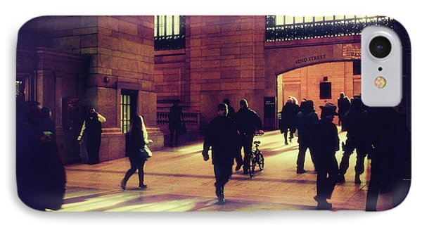 IPhone 7 Case featuring the photograph Grand Central Rush by Jessica Jenney