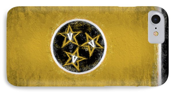 IPhone 7 Case featuring the digital art Vandy Tennessee State Flag by JC Findley