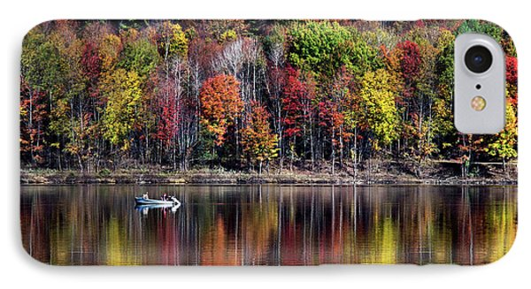 Vanishing Autumn Reflection Landscape IPhone 7 Case